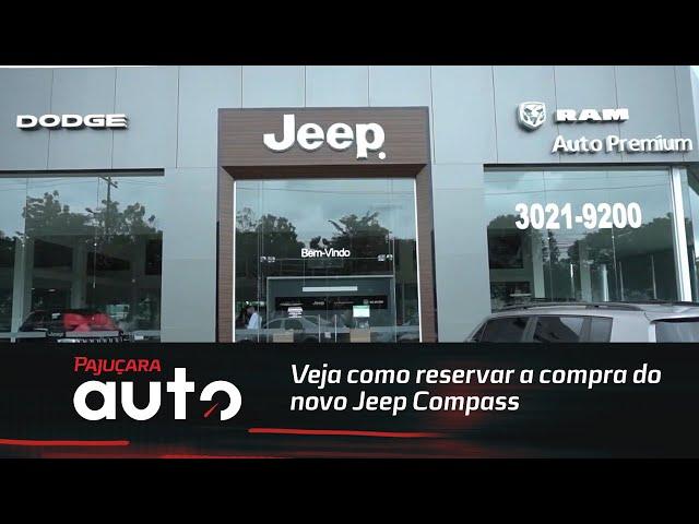 Veja como reservar a compra do novo Jeep Compass