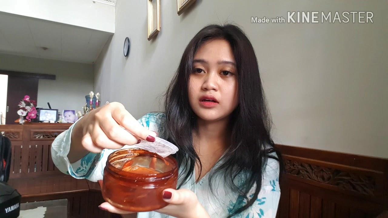 Efek Dari The Saem Snail Soothing Gel Ga Nyangka Youtube