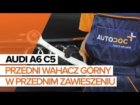 Jak Wymienić Przedni Wahacz Górny W Przednim Zawieszeniu W AUDI A6 C5 TUTORIAL   AUTODOC