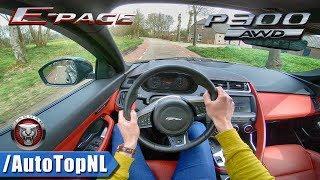 Jaguar E Pace HSE R Dynamic P300 AWD POV Test Drive by AutoTopNL