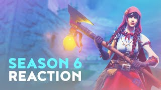 DAKOTAZ REACTING TO **NEW** SEASON 6 & BATTLE PASS UPDATE (Fortnite Battle Royale - Dakotaz)