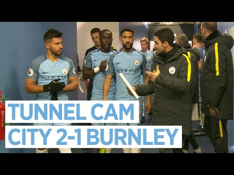 A BRAND NEW TUNNEL! | TUNNEL CAM | MAN CITY 2-1 BURNLEY