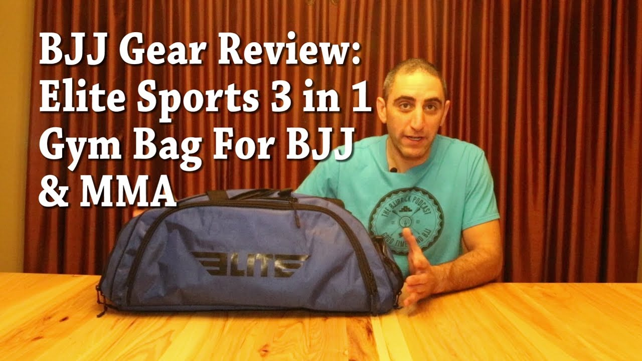 2181bf5e3daf Elite Sports Gym Bag Review For BJJ and MMA - YouTube
