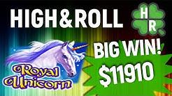 Play Royal Unicorn Slot Machine Online (Amatic) Free Bonus Game