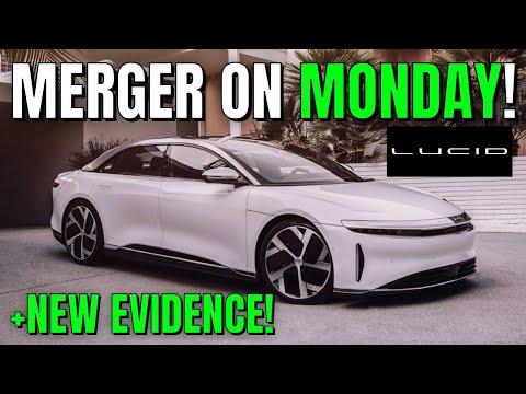 CCIV LUCID MOTORS MERGER DEAL ANNOUNCEMENT MONDAY! PLUS NEW EVIDENCE! CCIV LUCID MERGER UPDATE