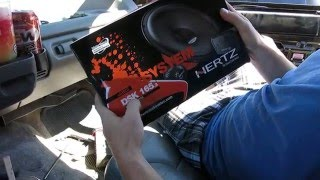 HERTZ DSK 165 UNBOXING AND REVIEW