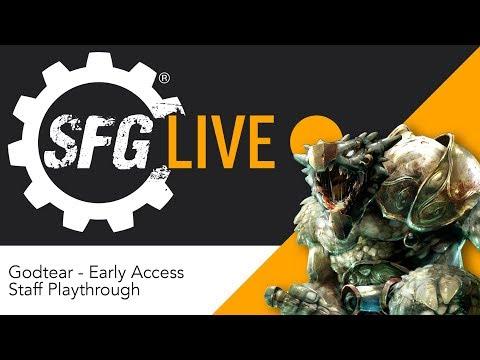 SFG Live: Godtear - Early Access Staff Playthrough