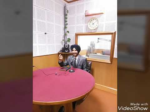 Andaaz Apna Apna show of All India Radio, Interview of Jagroop Singh Roop
