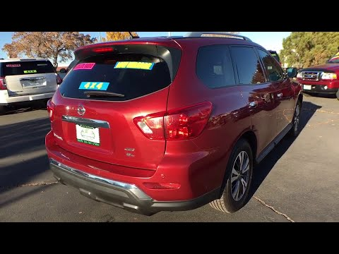 2017 Nissan Pathfinder Reno, Carson City, Northern Nevada, Sacramento, Elko, NV IR5919. Internet Auto Reno