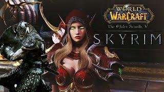Skyrim: ТОП 10 ЛУЧШИХ МОДОВ ИЗ World of Warcraft
