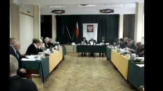 Jeziorany, sesja Rady Miejskiej 27 listopada 2013   uchwały cz. I