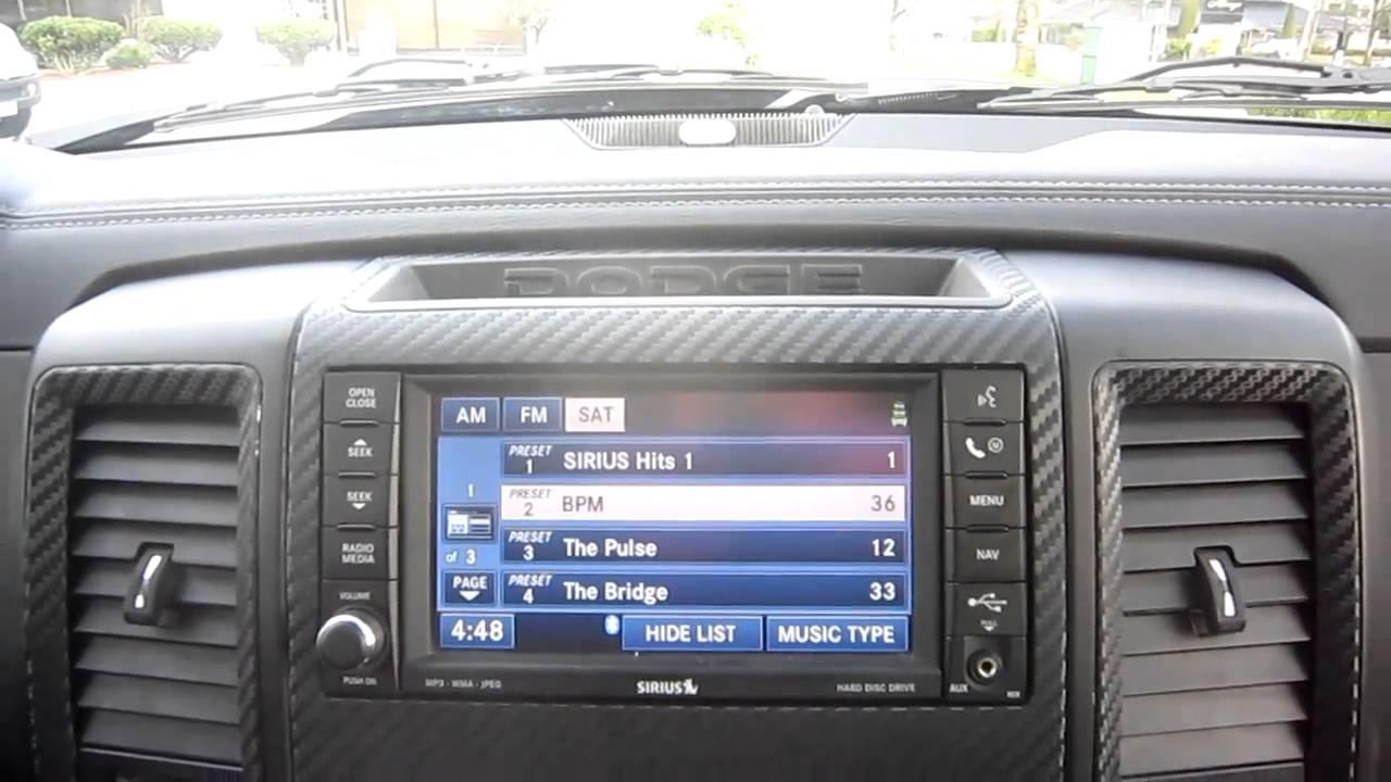 2012 Dodge Ram 1500 Aftermarket Stereo Upgrade