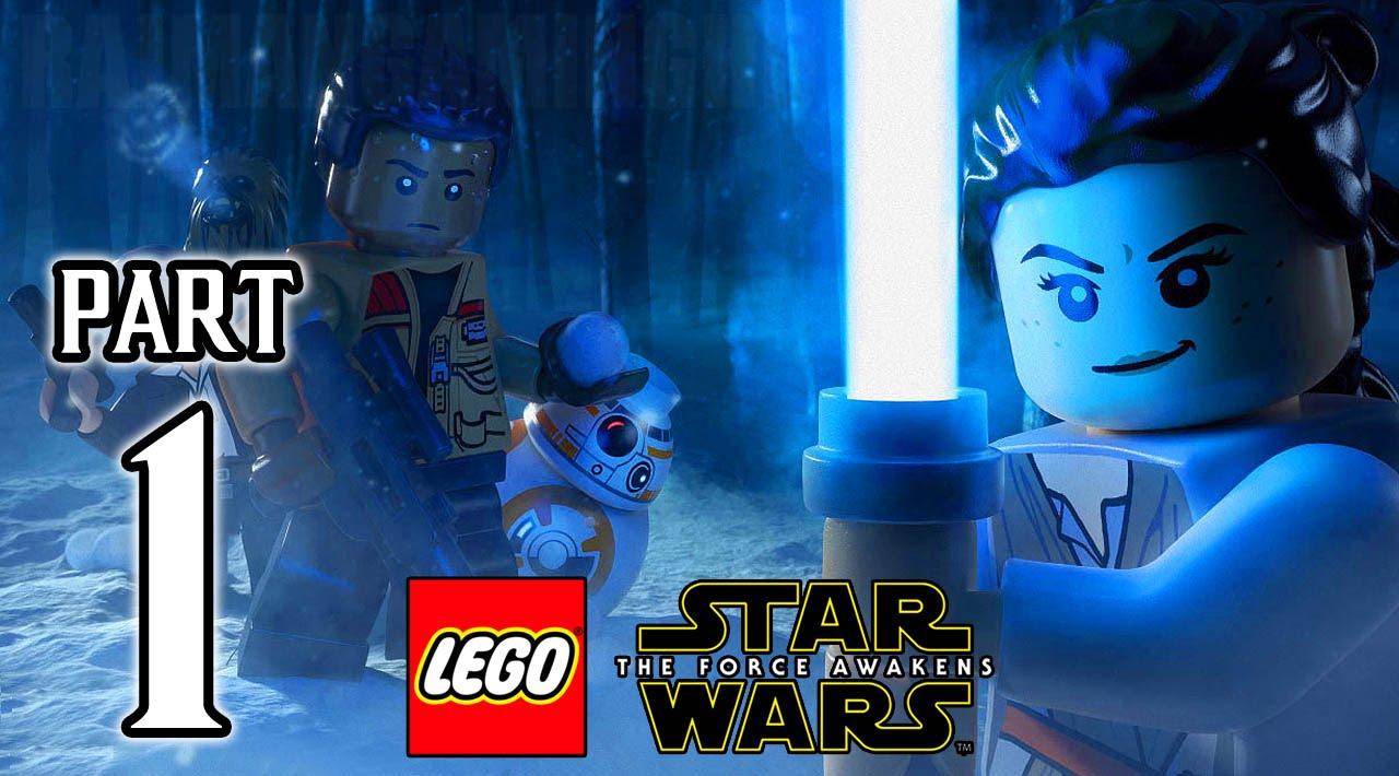 Lego Star Wars The Force Awakens Walkthrough Part 1 Ps4 Gameplay