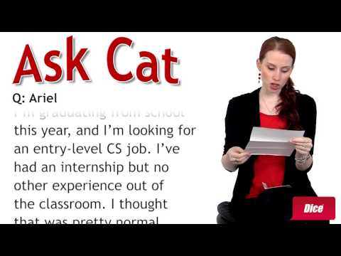 Ask Cat: Job Hunting Tips for Students and Recent Grads