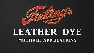 Vídeo: Leather dye Fiebing's 4oz (118 ml)