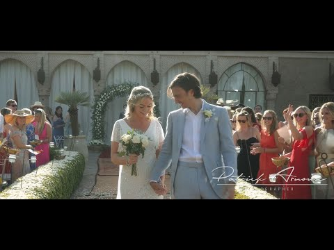 Wedding film in the famous Beldi Country Club of Marrakech