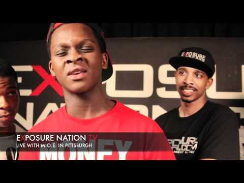 Pittsburgh's music group MOE interview on EXPOSURE NATION TV