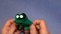 Fold Prince Charming -- the Talking Frog!