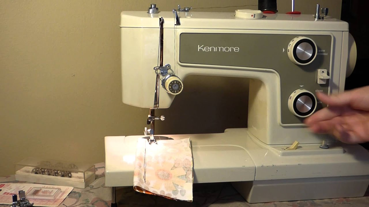 who makes kenmore sewing machine