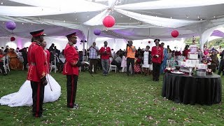 THIS MILITARY WEDDING BROUGHT KITALE TOWN TO A STAND STILL