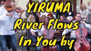 String Trio | Rockoko - River Flows In You (Yiruma, Violin Cover) #FolkRockVideo
