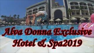 Турция/Alva Donna Exclusive Hotel & Spa/Обзор Бань/Ужин плюс Вечерняя программа/Обзор Бассейнов