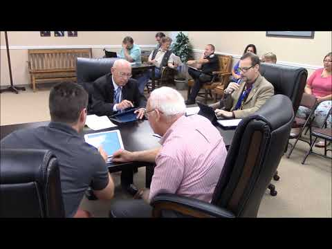 Discussion of Property Maintenance & Town Charter Changes