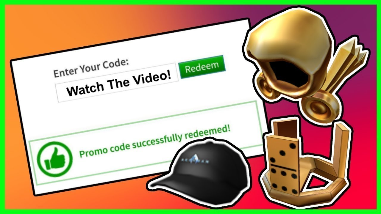 promocode  how to get roblox promo code items 2019  free