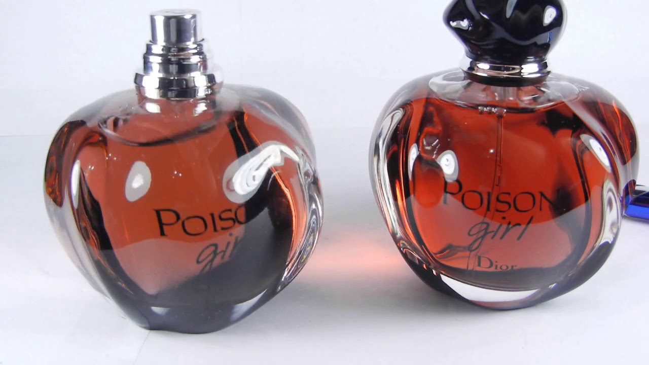 Fake Christian Dior Poison Girl Vs Real Authentic Cd Poison Girl