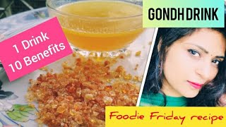Gondh Raab : Healthy Energy Drink Homemade Natural Immunity Booster. Calcium protein supplement