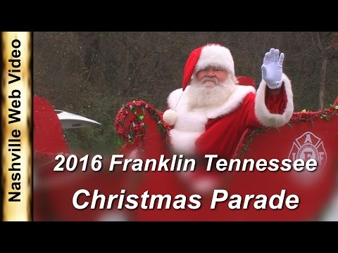 Franklin Tennessee Christmas Parade 2016