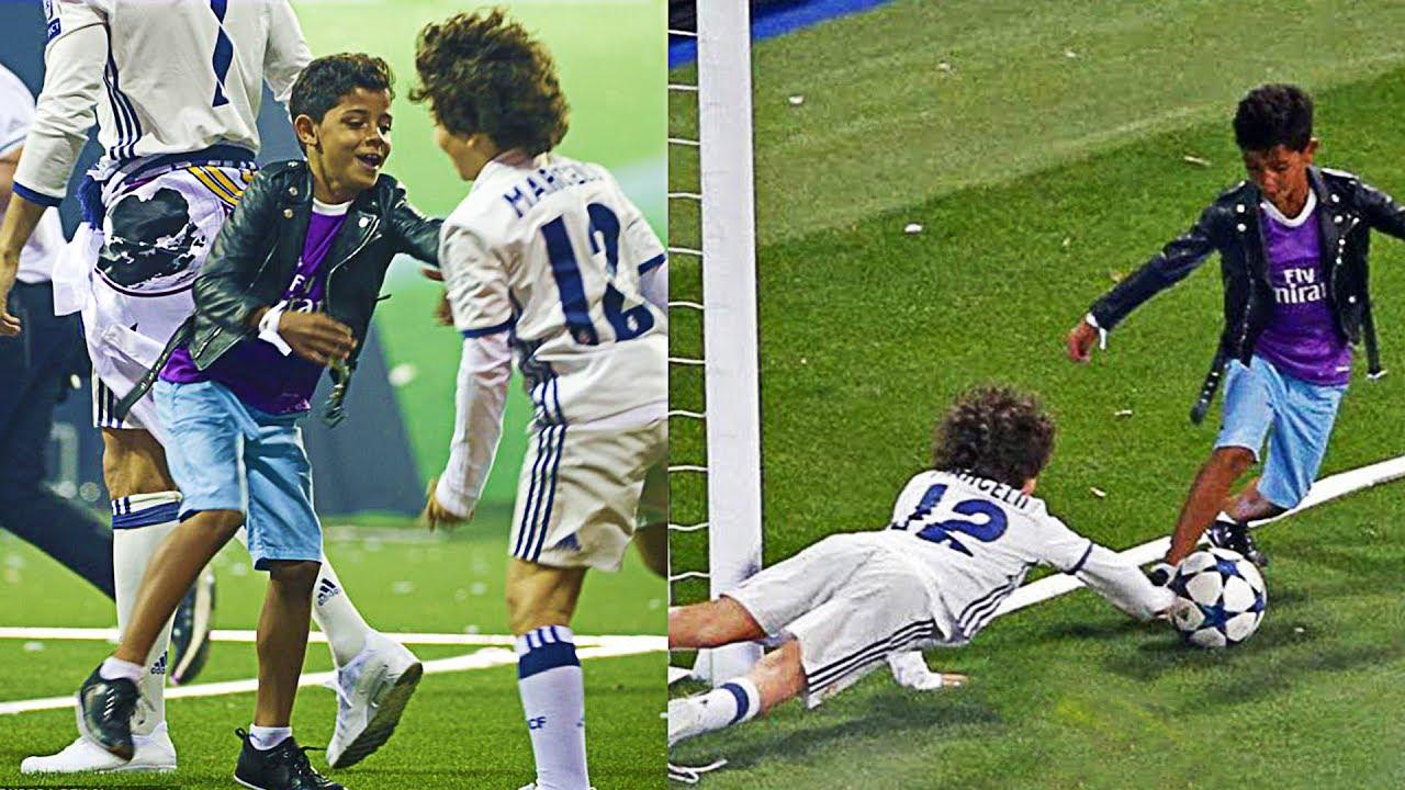 Cristiano Ronaldos Sohn Zerstort Marcelo S Sohn