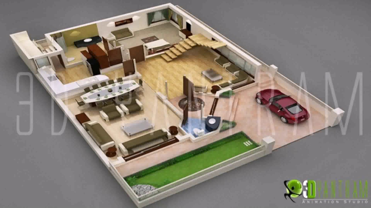 Indian Style 3d House Plans