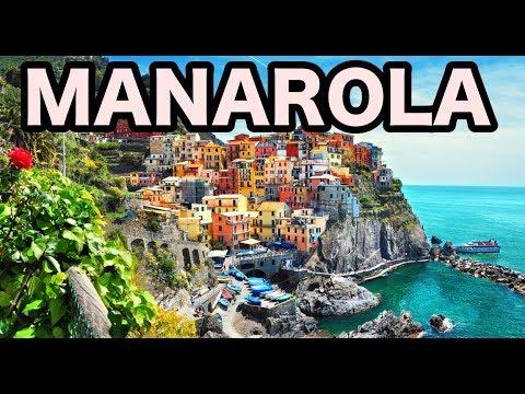 Manarola Italy Walking Tour In Cinque Terre 4K