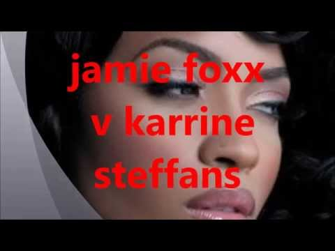 jamie foxx v karrine steffans at foxhole radio