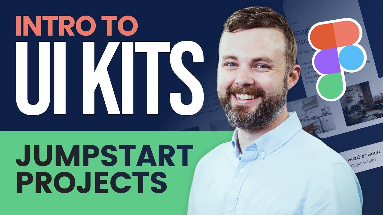 Intro to Figma UI Kits - Figma Tutorial For Beginners with Free UI Kit