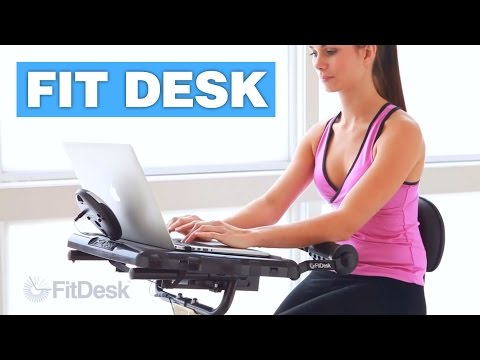 Fit Desk - Exercise Bike Laptop Desk