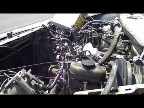 1996 FORD BRONCO; PULLING 351 WINDSOR ENGINEc