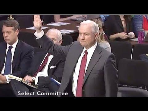 Jeff Sessions Testifies To Senate Intelligence Committee- Full Hearing