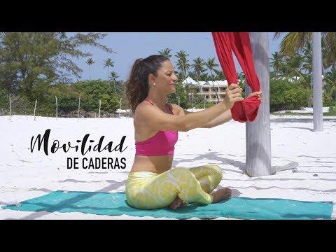 Tutorial de Yoga y Pilates Aereo para Apertura y Flexibilidad de Caderas