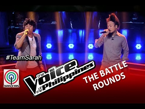 """The Voice of the Philippines Battle Round """"To Be With You"""" by Elmerjun Hilario and Kokoi Baldo"""