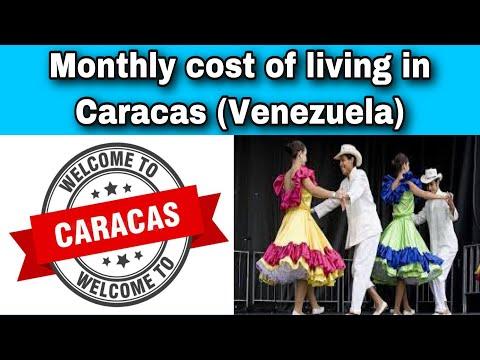 Monthly cost of living in Caracas (Venezuela)    Expense Tv