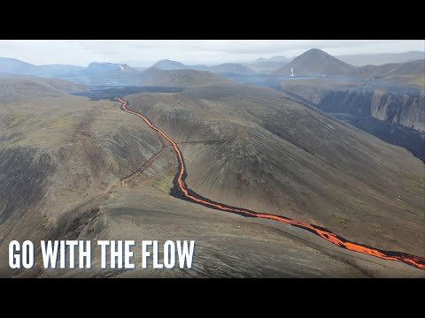 Iceland Volcano Update - New Lava Barrier and Lava Flow Forecast