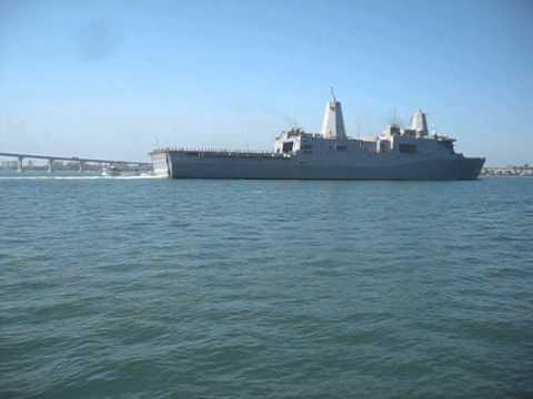USS Green Bay (LPD-20) departs Naval Base San Diego, CA 9/17/2012