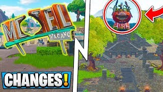 *ALL* Fortnite Map Changes! | New Tilted, Tomato Temple! ( 5.3 Update )