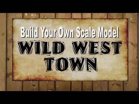 Ho Scale Old West Buildings