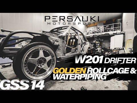 W201 DRIFT BUILD - GOLDEN ROLLCAGE| GSS #14 - PERSAUKI MOTORSPORT