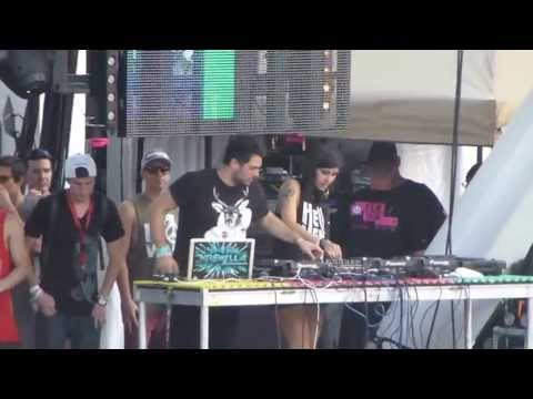 Adventure Club vs Krewella LIVE (Leighton b2b Yasmine) @ Ultra Music Festival 2013!