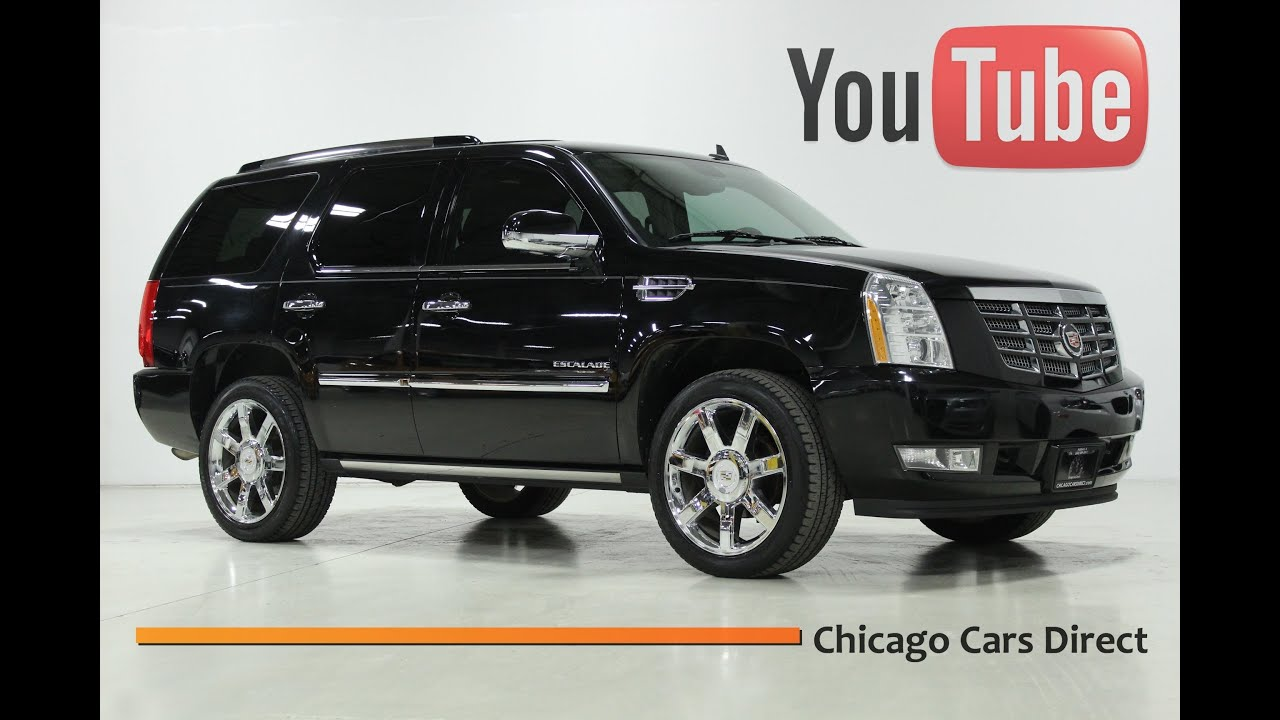 Chicago Cars Direct Presents a 2010 Cadillac Escalade Premium ...