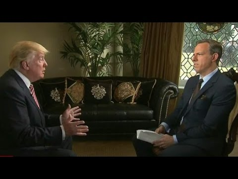 Donald Trump on State of the Union - Full Interview
